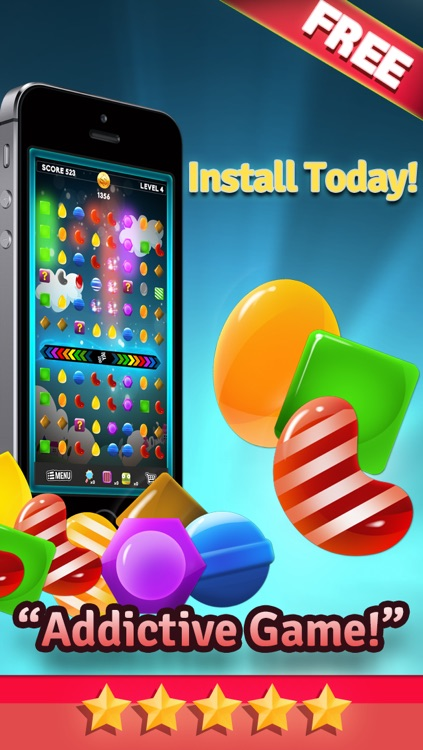 Candy Mania Puzzle Games - Fun Candies Match3 For Kids HD FREE