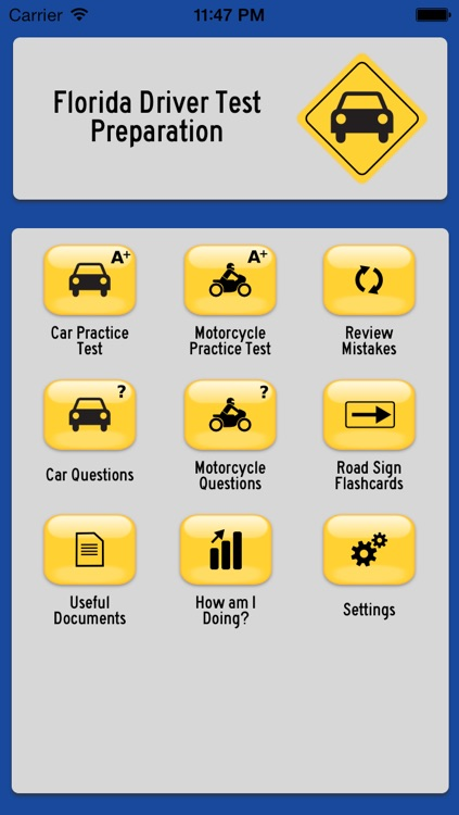 Car & Motorcycle DMV Test Prep for 15 American States - Driver Ed