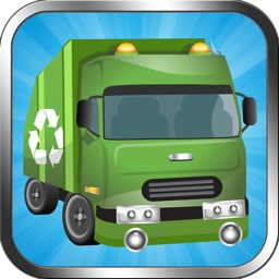 Garbage Truck Street Race - Dumpster Trucks Trash Pick Up Games Free