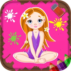 Activities of Coloring Pages for Girls - Fun Games for Kids