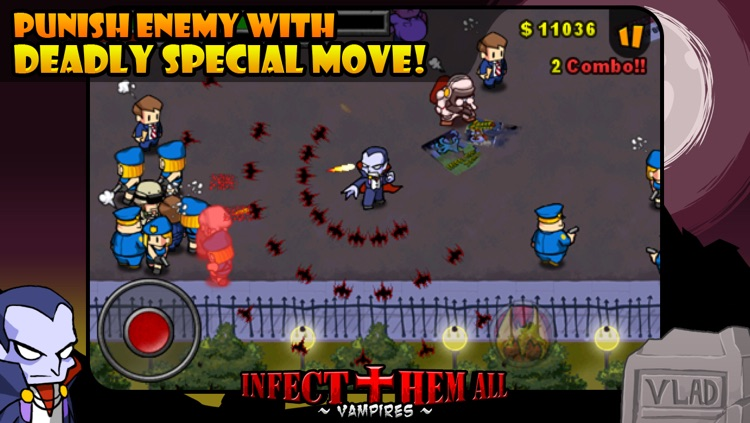 Infect Them All : Vampires lite screenshot-4