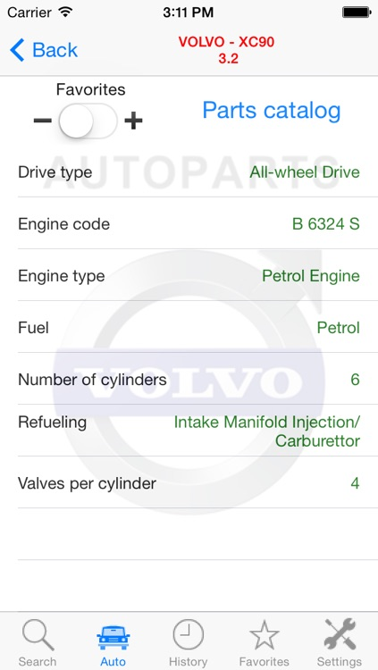 Autoparts for Volvo cars screenshot-4