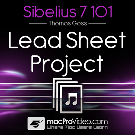 Course for Sibelius Lead Sheet Project