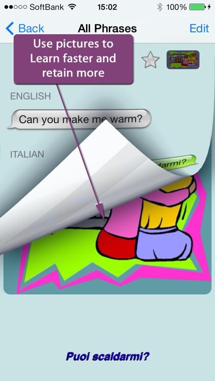 Italian - Talking English to Italian Translator and Phrasebook screenshot-3