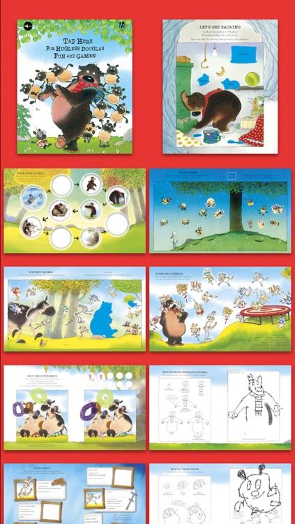 Hugless Douglas Sticker Activity App screenshot-4