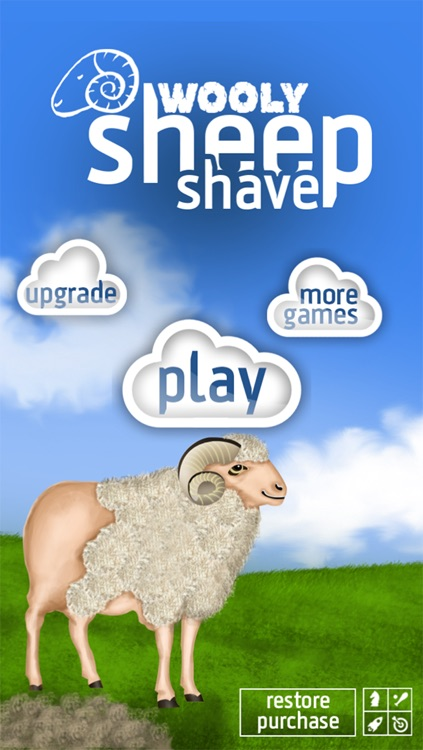 Wooly Sheep Shave : The Shepherd Shaving Lamb Day for Wool Harvest - Free