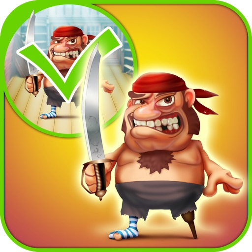 My Pirate Adventure Draw And Copy Game - The Virtual Dress Up Hero Edition - Free App icon