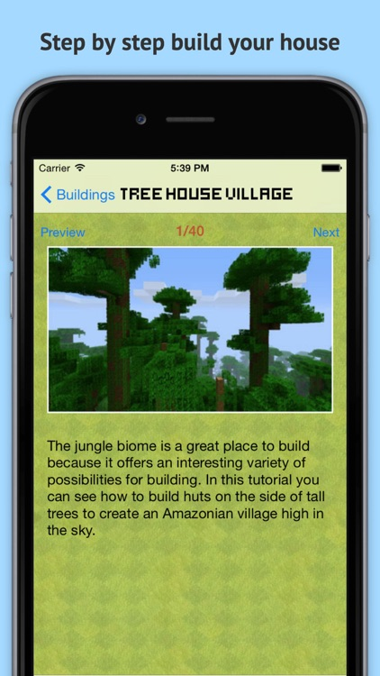 MineGuide Amazing Building Ideas - Free house and building guide for Minecraft Pocket Edition! screenshot-3