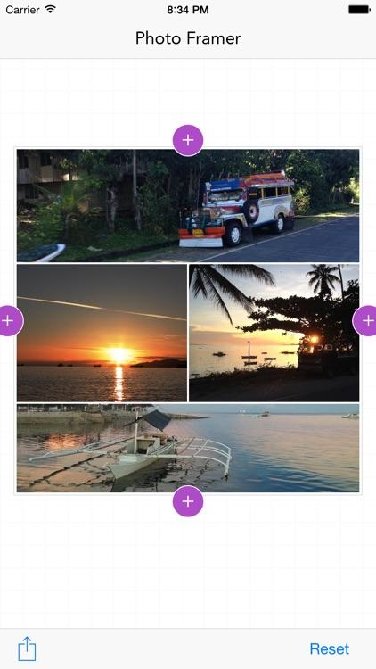 Photo Framer - photo collage maker screenshot-3