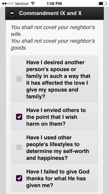 Confession App: Catholic Sacrament screenshot-4