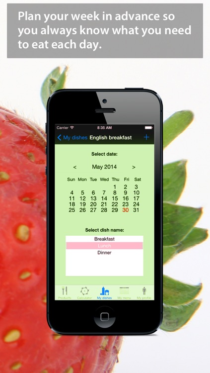Easy Calorie Counter for your meals - Lose and track your weight with the biggest nutrition data set.