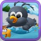 Polar Ice Penguin Racing Rage - A Free Flying Birds Fishing Adventure Game icon