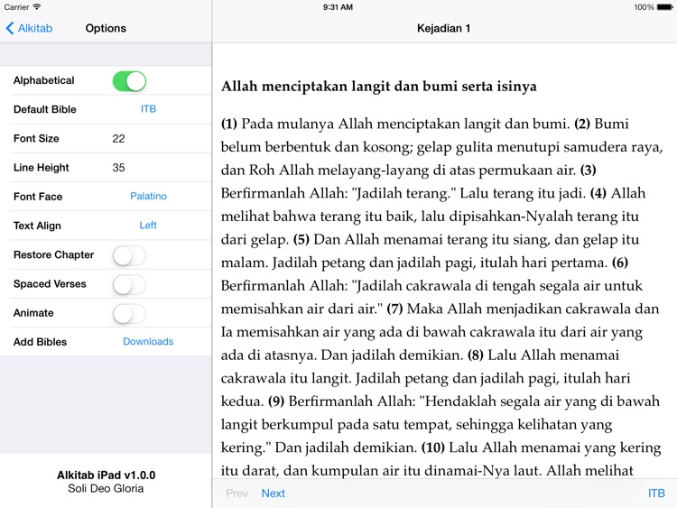 Alkitab for iPad screenshot-4