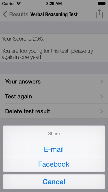 Kids IQ Verbal Reasoning Test screenshot-4