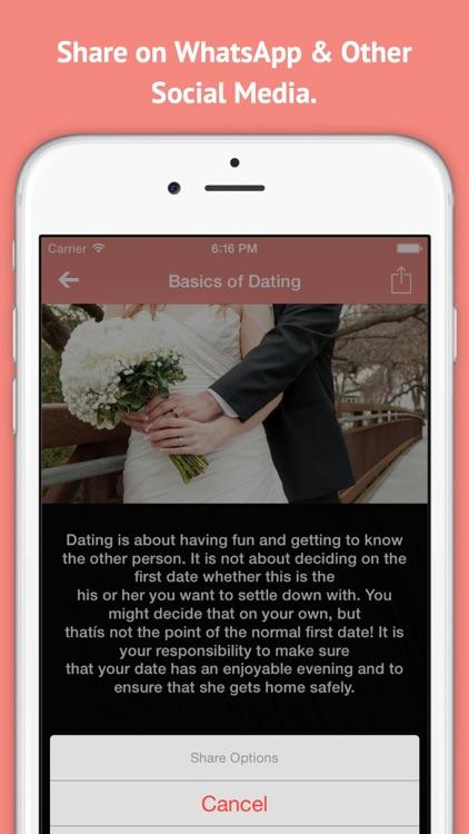 Ultimate Dating Guide for Men screenshot-3