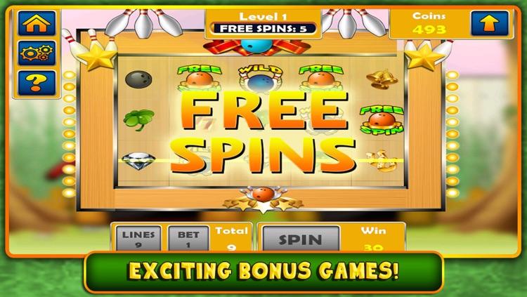 Extreme Bowling Kingpin Slot Machine - Original Vegas Style Slots
