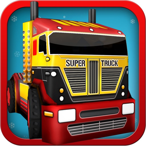 Elf Gift Delivery Simulator - Realistic 3D Toy Truck Driving and Parking Free Game