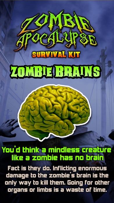 Zombie Apocalypse Survival Kit screenshot three