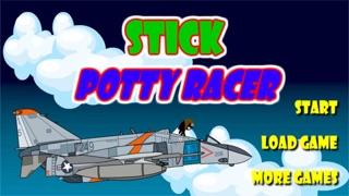 Stick Potty Racer