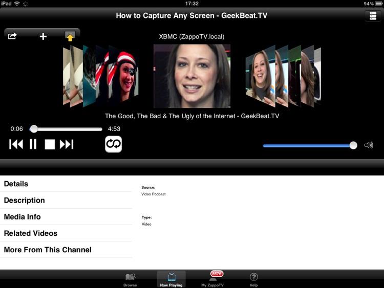 Sony TV Media Player HD screenshot-3
