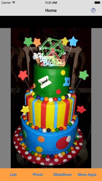 Happy Birthday Cake Ideas screenshot-3