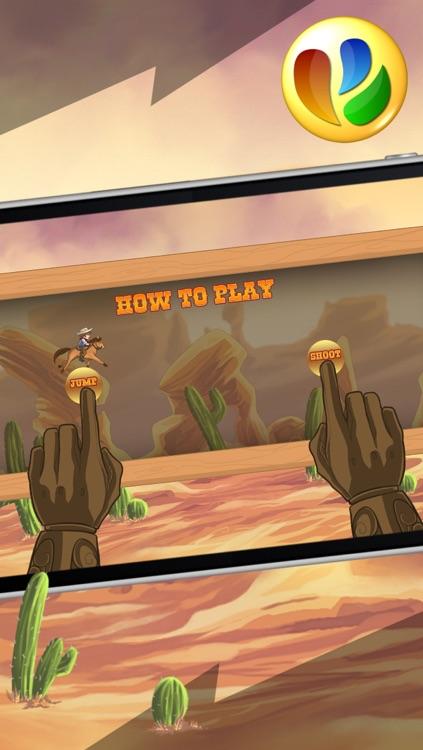 Wild West Cowboy Run – Free Action Game screenshot-3