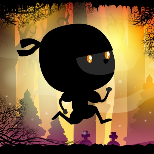 Halloween Ninja Run: Trick or Treat Dash through Sleepy Hollow With Vampire Bats and Pumpkins