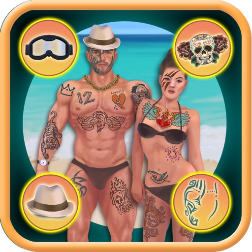 Fun Tattoo Dressing up Game