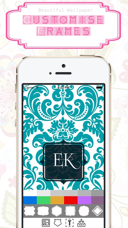 Monogram Wallpaper Maker screenshot-3