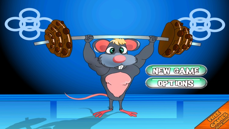 Mouse Body Building Chocolate Cookie Lift Free screenshot-3