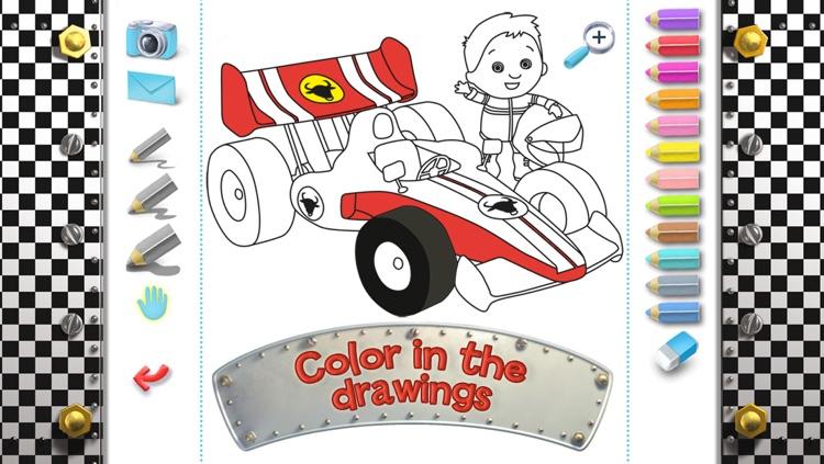 Dan's racing car - Little Boy screenshot-4