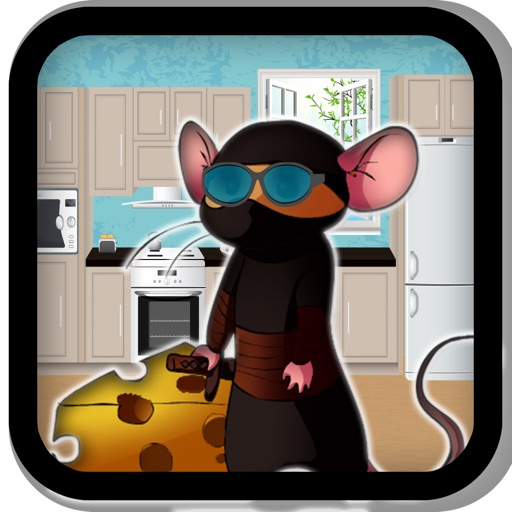 Ninja Mouse Cheese Grab Mayhem iOS App