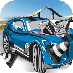 Super Wheelie Racecar - Fast Stunt Chase Challenge Free
