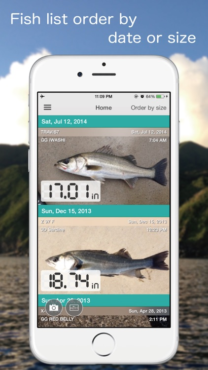 FISHPOCKET - Fish Measuring App