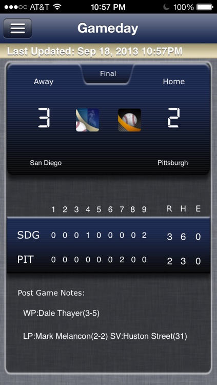 San Diego Baseball Live screenshot-0