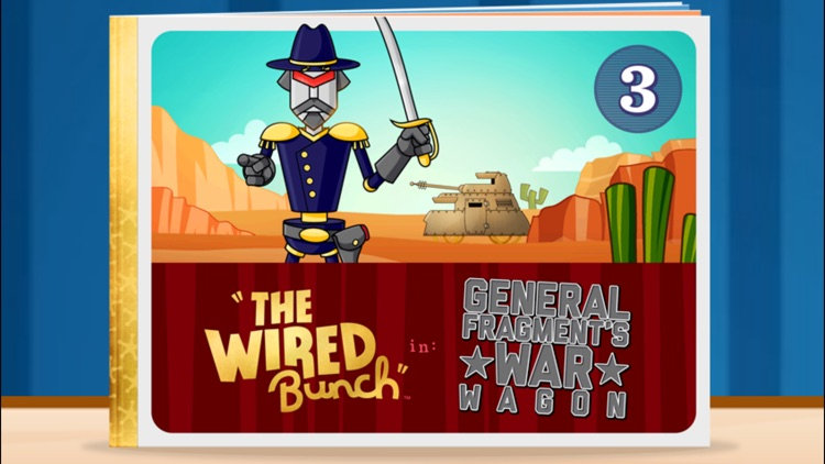 The Wired Bunch: Issue 3 - Interactive Children's Story Books, Read Along Bedtime Stories for Preschool, Kindergarten Age School Kids and Up screenshot-0