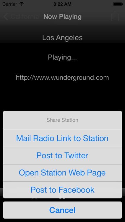 Weather Radio screenshot-3