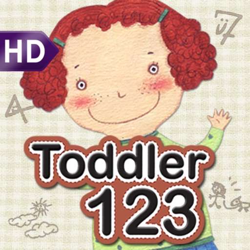 Toddler 123 for iPad icon