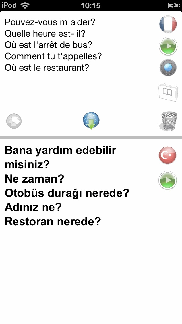 Screenshot for Fr-Tr Offline Photo Translator with Voice in Azerbaijan App Store