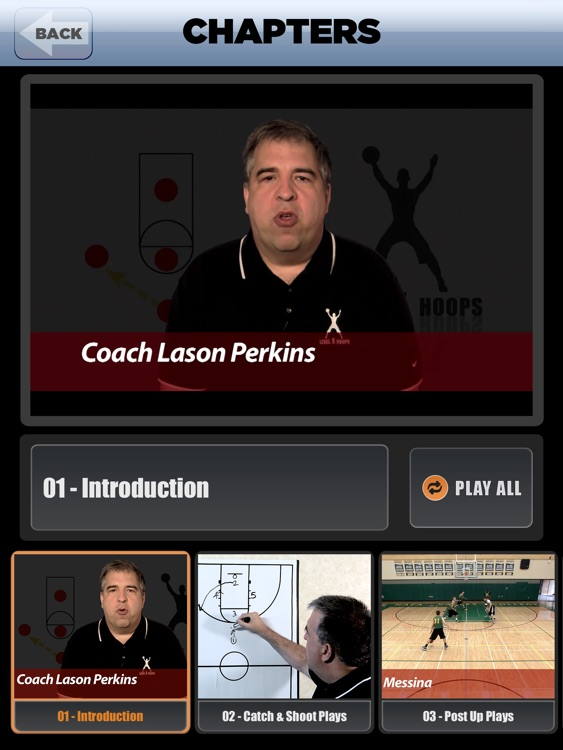 European Set Plays: International Championship Offense - With Coach Lason Perkins - Full Court Basketball Training Instruction - XL