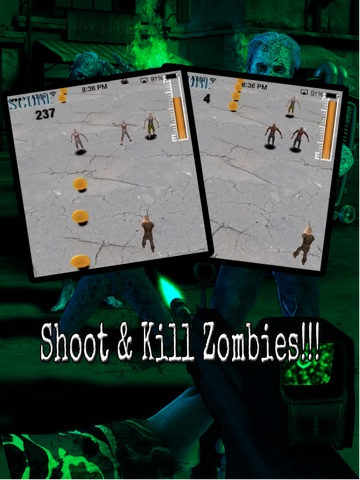 Trigger Shooter Battle Nations vs. Zombies - Dead Hunter World War 2 on Zombie Highway Road HD Lite-ipad-1