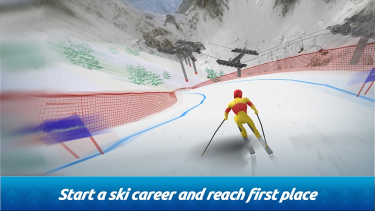 Top Ski Racing screenshot-0