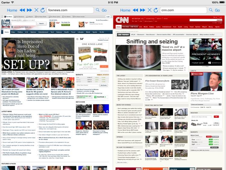 Split Screen Browser Pro screenshot-4