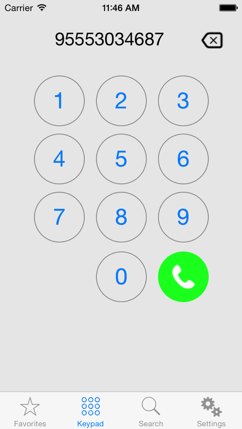 Remote Dialer for Cisco App 截图