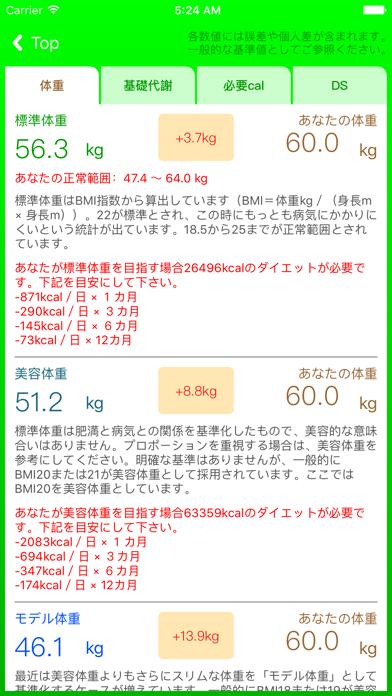 体重チェッカーのおすすめ画像1