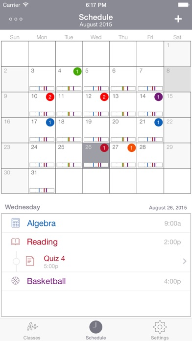 Screenshot #3 for Student Planner • Dog Ate It