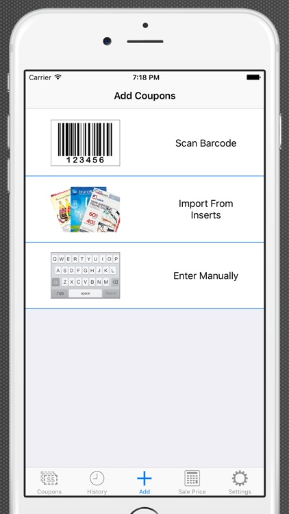 Track My Coupons Lite - Scanner and Organizer
