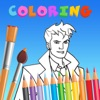 Coloring Book For Kid Education Game - Doctor Who Edition