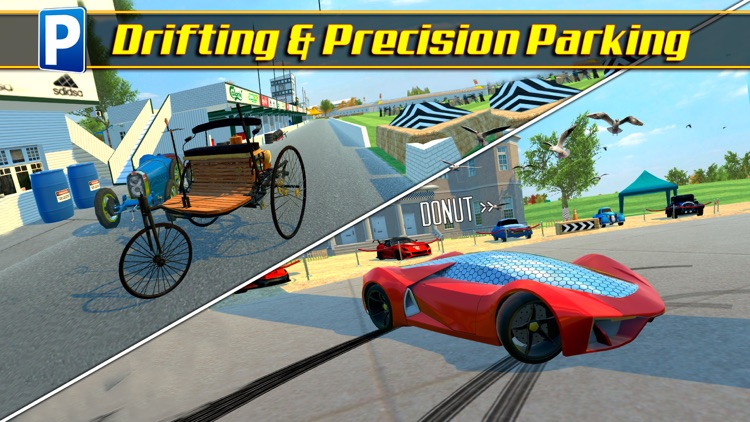 Driving Evolution Parking Sim Real Car Driver Test screenshot-3
