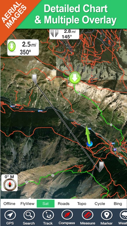 Baxter State Park - GPS Map Navigator